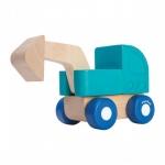 ของเล่นไม้ ของเล่นเด็ก ของเล่นเสริมพัฒนาการ Mini Excavator รถขุดมินิ (ส่งฟรี)