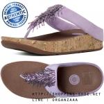 US8 : Fitflop Cha Cha Suede Dusty Lilac ของแท้ นำเข้าจาก USA และ UK