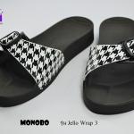 รองเท้าแตะ Monobo Jello Wrap 3 โมโนโบ้ สวม สีดำ เบอร์ 5-8