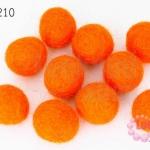 ลูกบอล Feit 20มิล #2 สีส้ม (5ลูก)