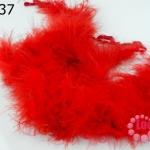 ขนมิงค์เฟอร์ สีแดง (1เส้น)