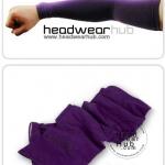 ถุงแขนกันแดด ป้องกันUV สีม่วงเข้ม
