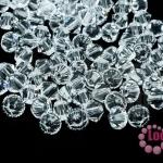 คริสตัลสวารอฟสกี้ (SWAROVSKI) สีขาวใส(001) 4มิล(100เม็ด)