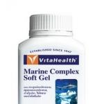 VitaHealth Marine Complex Soft Gel ไวต้าเฮลธ์ผลิตภัณฑ์เสริมอาหารสูตรบำรุงข้อและกระดูกจากสารอาหารใต้ท้องทะเลลึก