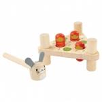 ของเล่นไม้ ของเล่นเด็ก ของเล่นเสริมพัฒนาการ Hammer Head Rabbit ค้อนตอกแครรอท (ส่งฟรี)