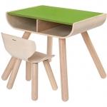 ของเล่นไม้ ของเล่นเด็ก ของเล่นเสริมพัฒนาการ Table & Chair (ส่งฟรี)