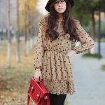 Smile Polka Dot Cute Dress