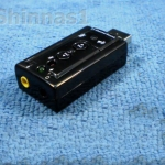USB Sound Adapter ระบบเสียง 7.1 C Media