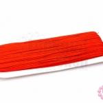 เชือกไหม สีแดง 1หลา(90ซม)