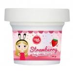 ครีมทาผิวขาว wink angel(Strawberry BODY WHITE CREAM สตอเบอรี่ บอดี้ ไวท์ ครีม)
