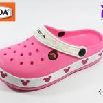 รองเท้าหัวปิด ADDA Mickey Mouse แอดด๊ามิกกี้เมาส์ รหัส 52705 สีชมพู เบอร์ 4-6