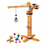 ของเล่นไม้ ของเล่นเด็ก ของเล่นเสริมพัฒนาการ Crane Set ชุดเครน (ส่งฟรี)