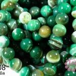 หินอาเกตดวงตา สีเขียว 12 มิล (จีน)