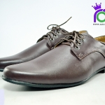 รองเท้าคัทชูชาย ดำ บินชิน BINSIN รุ่น M381 สีน้ำตาล เบอร์ 41-45