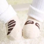 ถุงเท้าเด็กกันลื่นอย่างหนา ไซส์ 10-12,12-14 ซม. MSH67