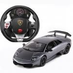 Lamborghini รถบังคับด้วยพวงมาลัย - สีดำ