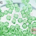 คริสตัลสวารอฟสกี้ (SWAROVSKI) สีเขียวอ่อน(214) 4มิล(100เม็ด)