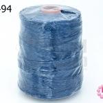 เชือกเทียน ตราน้ำเต้า สีน้ำเงิน #913 (1ม้วน)