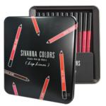 Sivanna Drawing Lip Pen Kit กล่องเหล็ก ลิปไลเนอร์ ดินสอเขียนขอบปาก เนื้อแมทท์