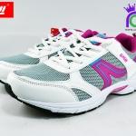 รองเท้าผ้าใบวิ่่ง BAOJI บาโอจิ รุ่นDS678 สีชมพู เบอร์ 37-41