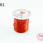 เอ็นยืด สีส้ม ม้วนเล็ก (1ม้วน/10หลา)