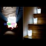 โคมไฟแก้วนม Milk Light PA0085