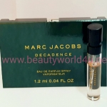 น้ำหอม Marc Jacobs Decadence EDP ขนาดทดลอง 1.2 ml.