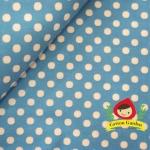 ผ้าฝ้ายญี่ปุ่น ลายจุดขนาด 3 mm จาก Lecien ตัดเสื้อได้ หรือ ทำผ้ารองซับๆใน สำหรับกระเป๋า กุ้นขอบ ฯลฯ เนื่อดีราคาประหยัดค่ะ