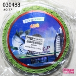 สายหรีดสำหรับร้อยมุก สีเขียว #0.37 (1ม้วน/100M.)