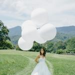 """ลูกโป่งกลมจัมโบ้ไซส์ใหญ่ 36"""" Latex Balloon RB WHITE 3FT สีขาว/ Item No. TQ-42847 แบรนด์ Qualatex"""