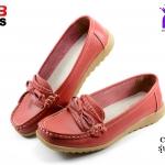 รองเท้าแฟชั่นหุ้มส้น CSB ซีเอสบี รุ่น BX92-513 สีแดง เบอร์ 36-40