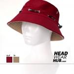 หมวกเดินป่า หมวกตกปลา กิจกรรมกลางแจ้ง : สีแดง