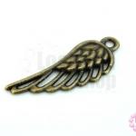 จี้ทองเหลือง ปีกนก 12X33มิล(1ชิ้น)