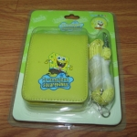 กระเป๋าใส่กล้องเหลือง Spongebob มีสายคล้อง