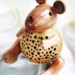 โคมไฟกะลามะพร้าวหนู Coconut Shell Lamp Mouse