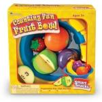 ของเล่นเด็ก ของเล่นเสริมพัฒนาการ Smart Snacks Counting Fun Fruit Bowl