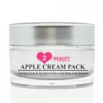 ตื่นปุ๊บ สวยปั๊บ!! ด้วย &#x2764 2-beauty&#x2764 Apple Cream Pack แพ็คหน้าก่อนนอนด้วยสเต็มเซลล์สดจากแอปเปิ้ล เผยผิวใหม่กระจ่างใสเรียบเนียน พิสูจน์ผลลัพธ์ผิวสวยใสเพียงชั่วข้ามคืน
