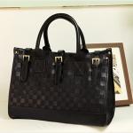 กระเป๋าแฟชั่น หนังPU แบร์ด axixi คุณภาพดี สีดำ ลายตาราง (รับประกันของแท้เหมือนแบบ 100%)
