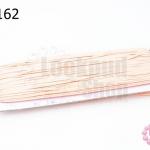 เชือกไหม สีชมพูโอรส 1หลา(90ซม)