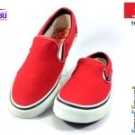 รองเท้าผ้าใบ MASHARE (มาแชร์) รุ่น V-5 สีแดง เบอร์ 37-44