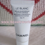 Chanel le blanc whitening concentrate double action 5 ml. (ขนาดทดลอง)