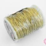 ลวดทองเหลือง 0.5มิล #25 (1ม้วน)