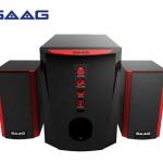 SAAG 10S Neutrino!!! Superrrrrrrrrrrrr Mini Speaker มีการพัฒนาให้เสียงแหลมที่ชัดเจนและเสียงทุ้มที่ลึกและหนักแน่นขึ้น เสียงไม่แตกพร่าเมื่อเปิดดัง คุณจึงเพลิดเพลินไปกับเสียงเพลงอย่างมีอรรถรส ดีไซน์ดุดันเล่นโทนสี แดง-ดำ 10s NEUTRINO ให้กำลังเสียงโดยรวม 1,100