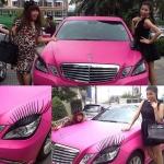 ขนตาติดรถยนต์ แบบมีอายไลเนอร์เป็นเพชร วิ้งๆๆๆๆ สวยๆ เริ่ดๆ สินค้านำเข้าจากไต้หวัน 650 บาท เท่านั้นจ้า !!!