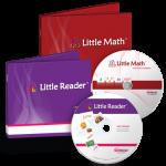 โปรแกรมเสริมสร้างพัฒนาการเด็ก Little Reader Basic + Little Math Basic ชุดสุดคุ้ม 2 (ส่งฟรี EMS)