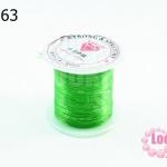 เอ็นยืด สีเขียวอ่อน ม้วนเล็ก (1ม้วน/10หลา)