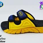 รองเท้า Scholl สกอร์ไซโคลน ทูโทน สีน้ำเงิน/เหลือง เบอร์3-8