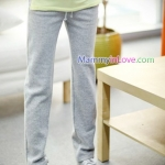 กางเกงลำลองขายาว สีเทา : SIZE XL รหัส PN066