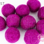 ลูกบอล Feit 25มิล #1 สีม่วงเข้ม (5ลูก)