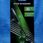 กรรไกรตัดผมสแตนเลสสตีล ขนาด 6 นิ้ว จาก RHINO รุ่น 661